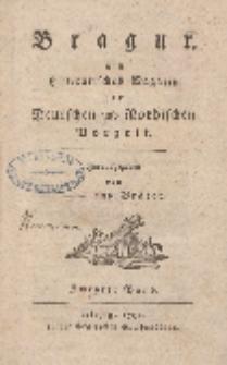 Bragur. Ein litterarisches Magazin der Deutschen und Nordischen Vorzeit, Zwenter Band