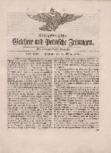 Königsbergsche Gelehrte und Politische Zeitungen. Mit allergnädigster Freyheit, 9tes Stück, Freytag, den 2. März 1764