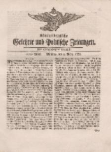 Königsbergsche Gelehrte und Politische Zeitungen. Mit allergnädigster Freyheit, 10tes Stück, Montag, den 5. März 1764