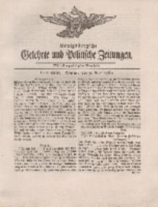 Königsbergsche Gelehrte und Politische Zeitungen. Mit allergnädigster Freyheit, 20tes Stück, Montag, den 9. April 1764