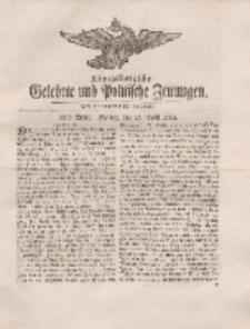 Königsbergsche Gelehrte und Politische Zeitungen. Mit allergnädigster Freyheit, 25tes Stück, Freytag, den 27. April 1764