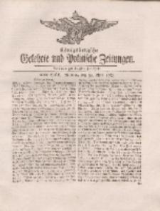 Königsbergsche Gelehrte und Politische Zeitungen. Mit allergnädigster Freyheit, 26tes Stück, Montag, den 30. April 1764