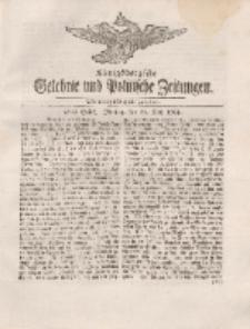 Königsbergsche Gelehrte und Politische Zeitungen. Mit allergnädigster Freyheit, 32tes Stück, Montag, den 21. May 1764