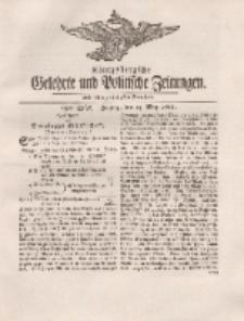 Königsbergsche Gelehrte und Politische Zeitungen. Mit allergnädigster Freyheit, 33tes Stück, Freytag, den 25. May 1764