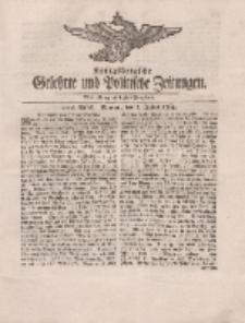 Königsbergsche Gelehrte und Politische Zeitungen. Mit allergnädigster Freyheit, 44tes Stück, Montag, den 2. Julius 1764