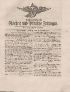 Königsbergsche Gelehrte und Politische Zeitungen. Mit allergnädigster Freyheit, 46tes Stück, Montag, den 9. Julius 1764