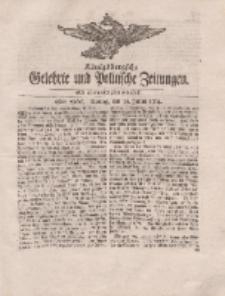 Königsbergsche Gelehrte und Politische Zeitungen. Mit allergnädigster Freyheit, 48tes Stück, Montag, den 16. Julius 1764