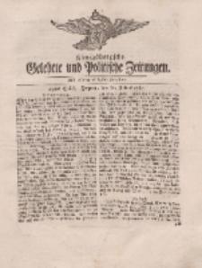 Königsbergsche Gelehrte und Politische Zeitungen. Mit allergnädigster Freyheit, 49tes Stück, Freytag, den 20. Julius 1764
