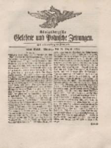 Königsbergsche Gelehrte und Politische Zeitungen. Mit allergnädigster Freyheit, 56tes Stück, Montag, den 13. August 1764