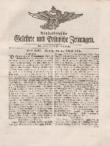 Königsbergsche Gelehrte und Politische Zeitungen. Mit allergnädigster Freyheit, 59tes Stück, Freytag, den 24. August 1764