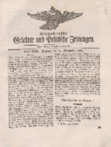 Königsbergsche Gelehrte und Politische Zeitungen. Mit allergnädigster Freyheit, 65tes Stück, Freytag, den 14. September 1764