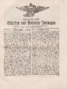 Königsbergsche Gelehrte und Politische Zeitungen. Mit allergnädigster Freyheit, 80tes Stück, Montag, den 5. November 1764