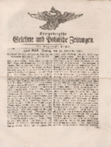 Königsbergsche Gelehrte und Politische Zeitungen. Mit allergnädigster Freyheit, 83tes Stück, Freytag, den 16. November 1764