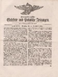 Königsbergsche Gelehrte und Politische Zeitungen. Mit allergnädigster Freyheit, 90tes Stück, Montag, den 10. December 1764