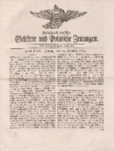 Königsbergsche Gelehrte und Politische Zeitungen. Mit allergnädigster Freyheit, 91tes Stück, freytag, den 14. December 1764