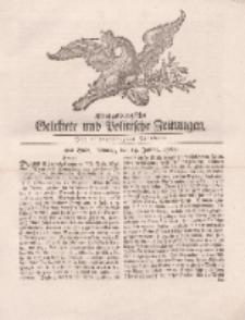 Königsbergsche Gelehrte und Politische Zeitungen. Mit allergnädigster Freyheit, 4tes Stück, Montag, den 14. Januar 1765