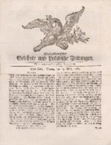 Königsbergsche Gelehrte und Politische Zeitungen. Mit allergnädigster Freyheit, 22tes Stück, Montag, den 18. März 1765