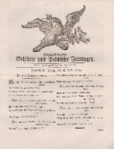 Königsbergsche Gelehrte und Politische Zeitungen. Mit allergnädigster Freyheit, 33tes Stück, Freitag, den 26. April 1765