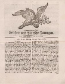 Königsbergsche Gelehrte und Politische Zeitungen. Mit allergnädigster Freyheit, 34tes Stück, Montag, den 29. April 1765