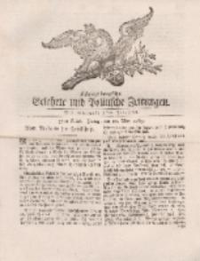 Königsbergsche Gelehrte und Politische Zeitungen. Mit allergnädigster Freyheit, 37tes Stück, Freitag, den 10. May 1765