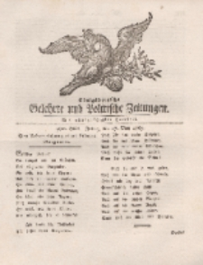 Königsbergsche Gelehrte und Politische Zeitungen. Mit allergnädigster Freyheit, 39tes Stück, Freitag, den 17. May 1765
