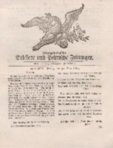 Königsbergsche Gelehrte und Politische Zeitungen. Mit allergnädigster Freyheit, 43tes Stück, Freitag, den 31. May 1765