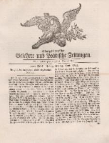 Königsbergsche Gelehrte und Politische Zeitungen. Mit allergnädigster Freyheit, 47tes Stück, Freitag, den 14. Junii 1765