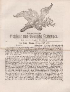 Königsbergsche Gelehrte und Politische Zeitungen. Mit allergnädigster Freyheit, 50tes Stück, Montag, den 24. Junii 1765