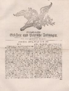 Königsbergsche Gelehrte und Politische Zeitungen. Mit allergnädigster Freyheit, 51tes Stück, Freitag, den 28. Junii 1765