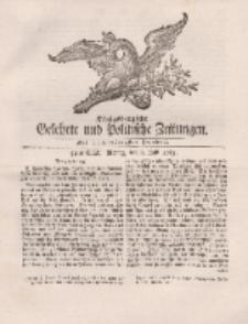 Königsbergsche Gelehrte und Politische Zeitungen. Mit allergnädigster Freyheit, 54tes Stück, Montag, den 8. Julii 1765