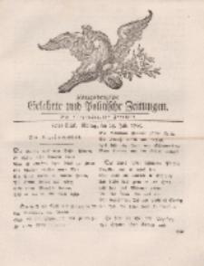 Königsbergsche Gelehrte und Politische Zeitungen. Mit allergnädigster Freyheit, 60tes Stück, Montag, den 29. Julii 1765