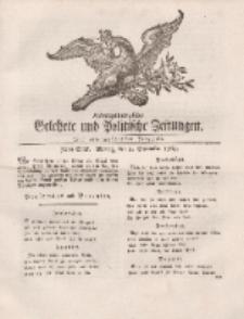 Königsbergsche Gelehrte und Politische Zeitungen. Mit allergnädigster Freyheit, 70tes Stück, Montag, den 2. September 1765