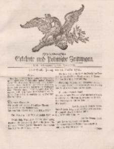 Königsbergsche Gelehrte und Politische Zeitungen. Mit allergnädigster Freyheit, 81tes Stück, Freitag, den 11. October 1765