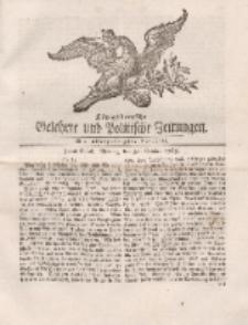Königsbergsche Gelehrte und Politische Zeitungen. Mit allergnädigster Freyheit, 84tes Stück, Montag, den 21. October 1765