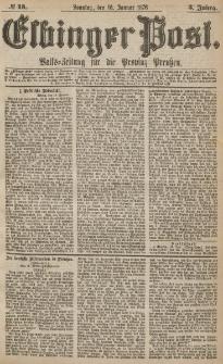 Elbinger Post, Nr.13 Sonntag 16 Januar 1876, 3 Jh