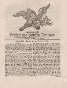 Königsbergsche Gelehrte und Politische Zeitungen. Mit allergnädigster Freyheit, 90tes Stück, Montag, den 11. November 1765