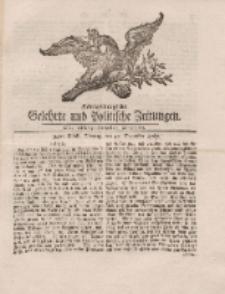 Königsbergsche Gelehrte und Politische Zeitungen. Mit allergnädigster Freyheit, 94tes Stück, Montag, den 25. November 1765