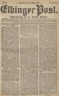 Elbinger Post, Nr.15 Mittwoch 19 Januar 1876, 3 Jh
