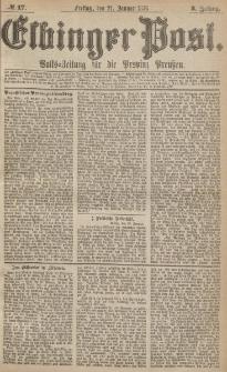 Elbinger Post, Nr.17 Freitag 21 Januar 1876, 3 Jh