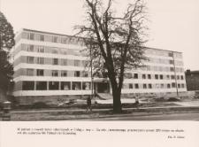 Nowo oddany hotel robotniczy przy ulicy Związku Jaszczurczego