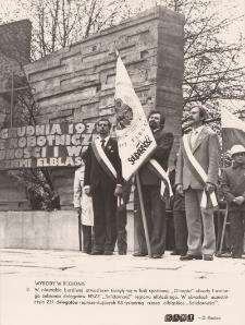 """Regionalne wybory delegatów NSZZ """"Solidarność"""" - pod pomnikiem"""