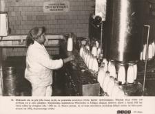 Spółdzielnia Mleczarska w Elblągu przetwarza mniej mleka z powodu zmniejszenia się jego skupu