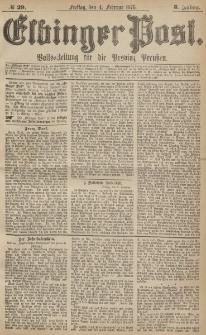 Elbinger Post, Nr.29 Freitag 4 Februar 1876, 3 Jh