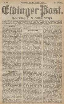 Elbinger Post, Nr.36 Sonnabend 12 Februar 1876, 3 Jh