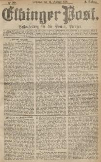 Elbinger Post, Nr.39 Mittwoch 16 Februar 1876, 3 Jh
