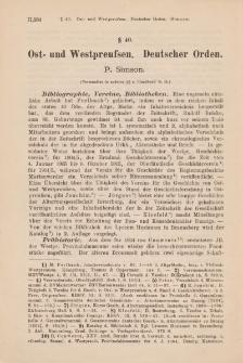 Jahresberichte der Geschichtswissenschaft. Sonderdruck