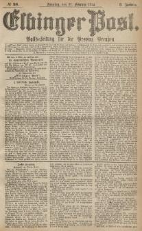 Elbinger Post, Nr.49 Sonntag 27 Februar 1876, 3 Jh
