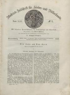 Globus. Illustrierte Zeitschrift für Länder...Bd. XLIX, Nr.1, 1886
