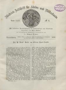 Globus. Illustrierte Zeitschrift für Länder...Bd. XLIX, Nr.4, 1886