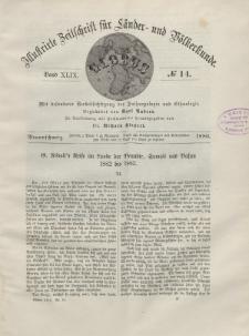 Globus. Illustrierte Zeitschrift für Länder...Bd. XLIX, Nr.14, 1886